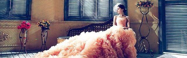 dreamdiary-Wearing a wedding dress
